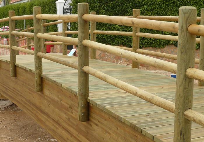 Vallas de madera almer a equindagro sl - Vallas de madera ...